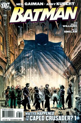 Gaiman + Dark Knight = YEEAAH!!